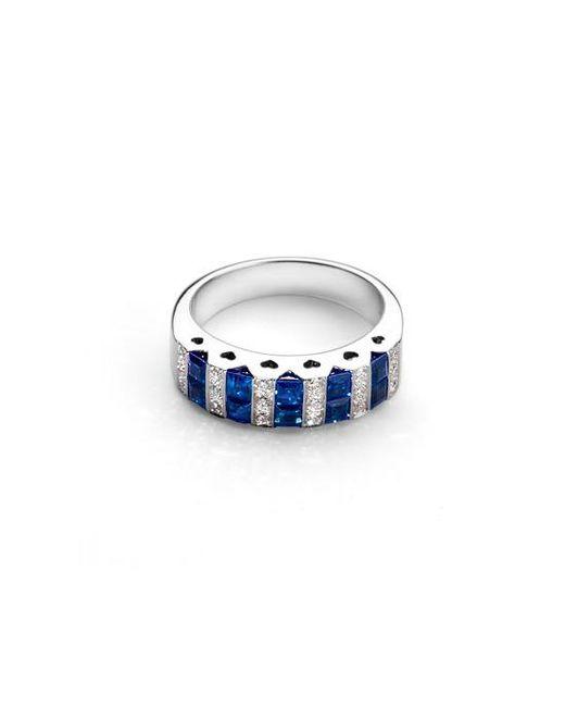 Aspinal - Blue Aspinal Heart Ring - Lyst