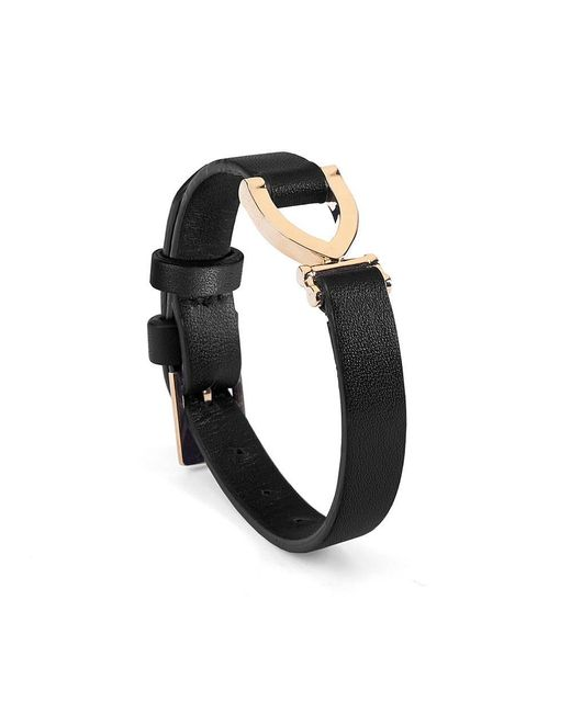 Aspinal - Black Mayfair Bracelet - Lyst