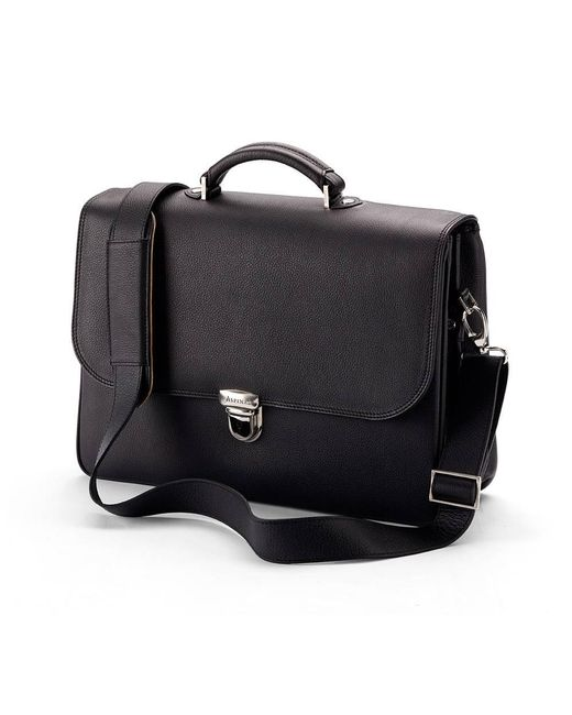 Aspinal - Black City Briefcase - Lyst
