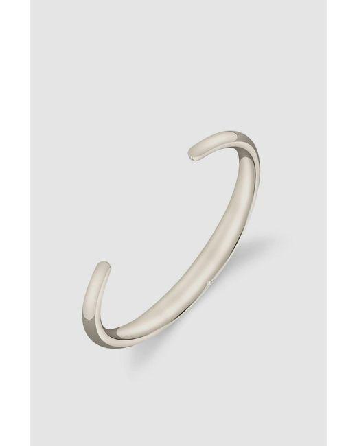 Gabriela Artigas - White Bronze Beam Cuff - Lyst