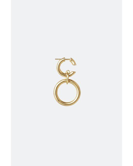 Maria Black - Metallic Gold Dogma Earring - Lyst