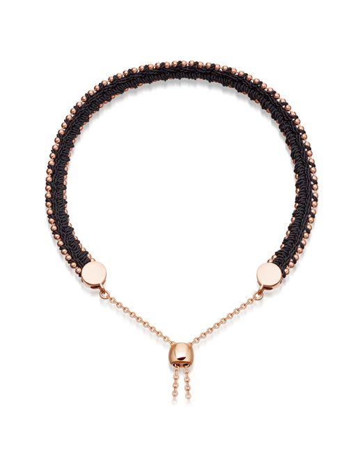 Astley Clarke | Blue Midnight Woven Kula Biography Bracelet | Lyst