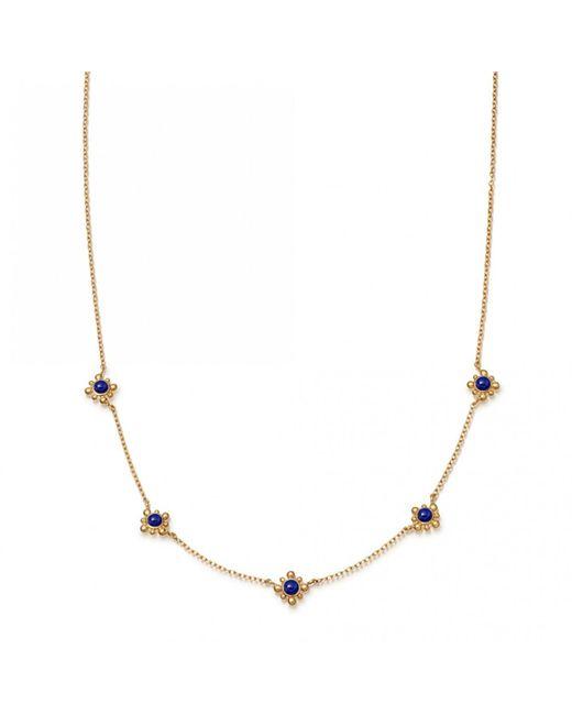 Astley Clarke - Multicolor Lapis Mini Floris Necklace - Lyst