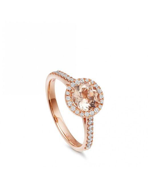 Astley Clarke - Metallic Morganite Tearoom Ring - Lyst