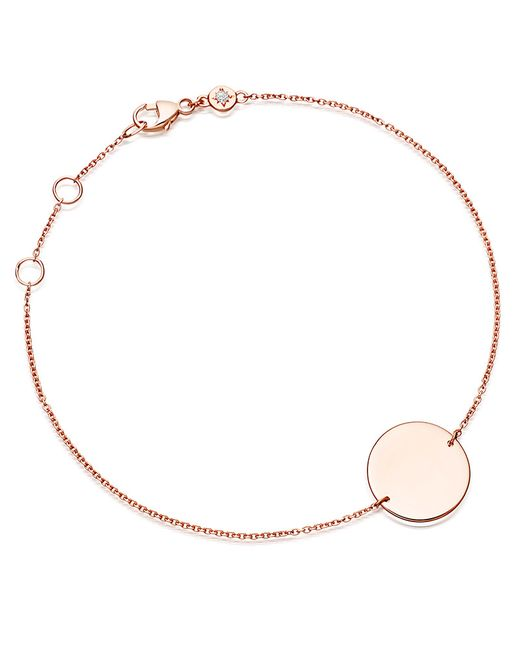 Astley Clarke   Metallic Engravable Disc Bracelet   Lyst