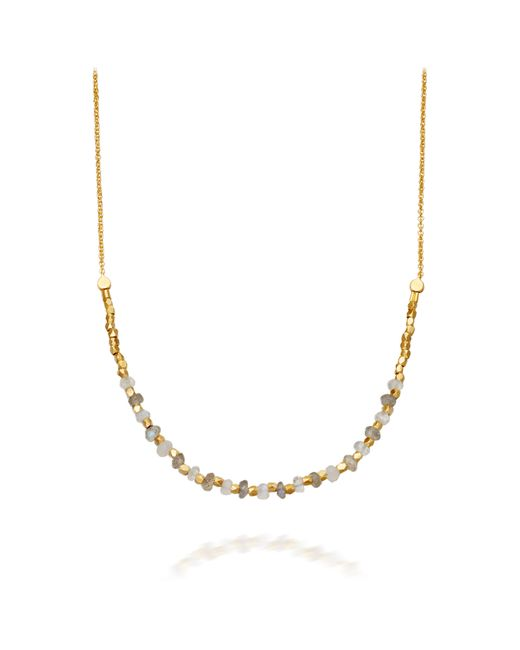 Astley Clarke | Metallic 14ct Yellow Gold Halo Diamond Pendant | Lyst