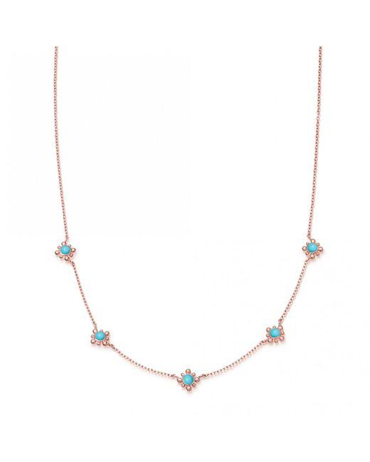 Astley Clarke - Multicolor Turquoise Mini Floris Necklace - Lyst
