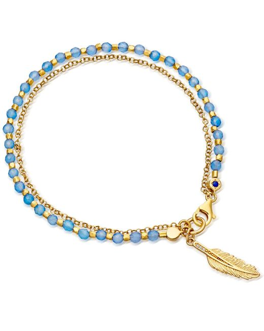 Astley Clarke - Metallic Feather Biography Bracelet - Lyst