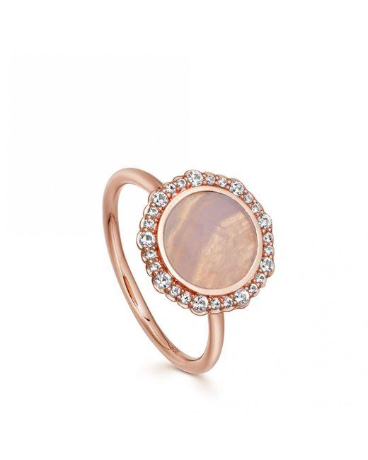 Astley Clarke - Multicolor Luna Lace Agate Ring - Lyst