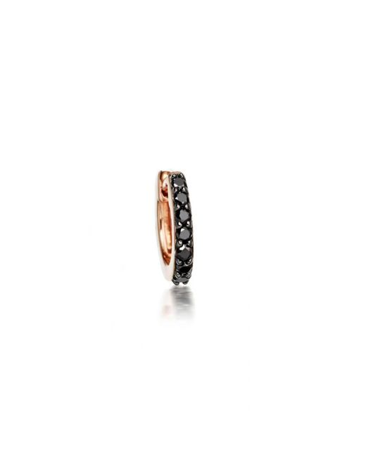 Astley Clarke - Mini Halo Black Diamond Hoop Earrings - Lyst