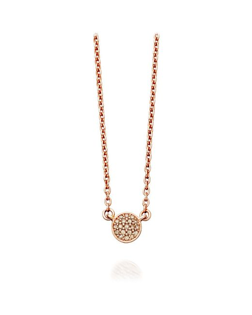Astley Clarke - Metallic Mini Icon Pendant Necklace - Lyst