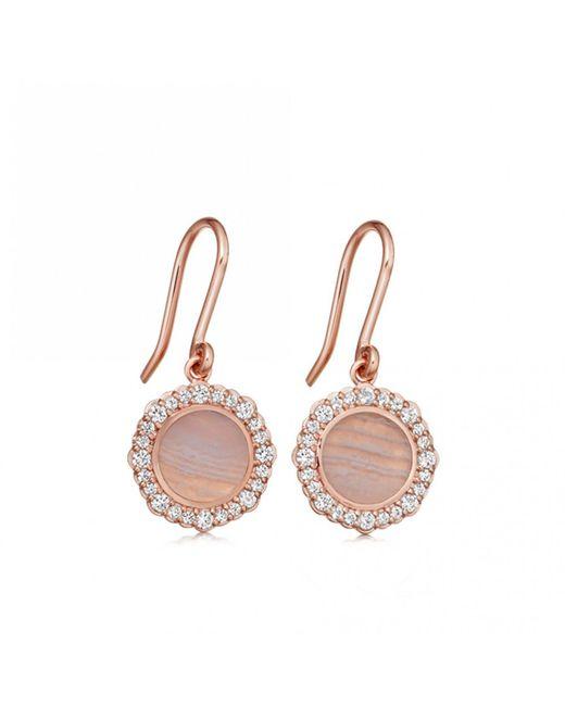 Astley Clarke - Multicolor Luna Lace Agate Drop Earrings - Lyst