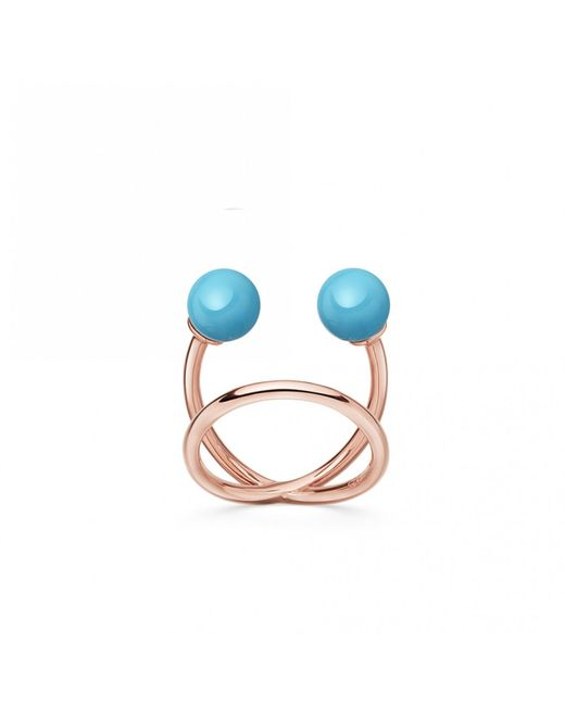 Astley Clarke - Blue Turquoise Yves Ring - Lyst
