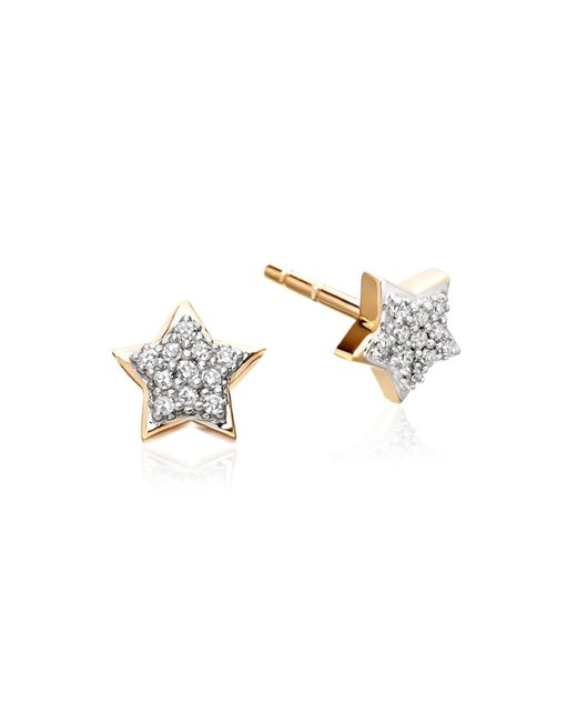 Astley Clarke - Yellow Little Star Stud Earrings - Lyst