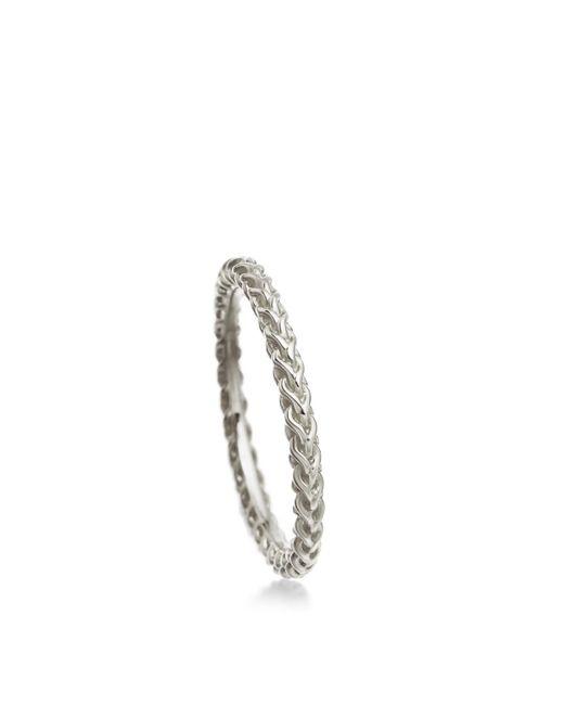 Astley Clarke - Metallic Spiga Stilla Ring - Lyst