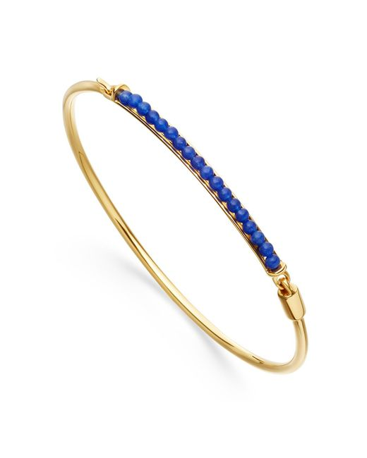Astley Clarke | Blue Agate Biography Bangle | Lyst