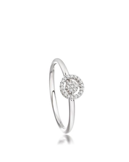Astley Clarke   White Mini Icon Aura Ring   Lyst