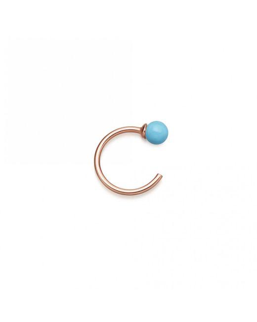 Astley Clarke - Blue Turquoise Ezra Single Hoop Earring - Lyst