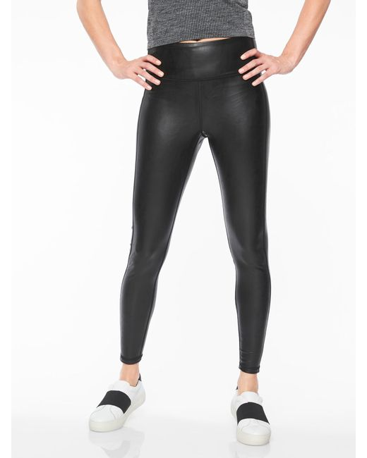 Athleta - Black All Over Gleam Tight - Lyst