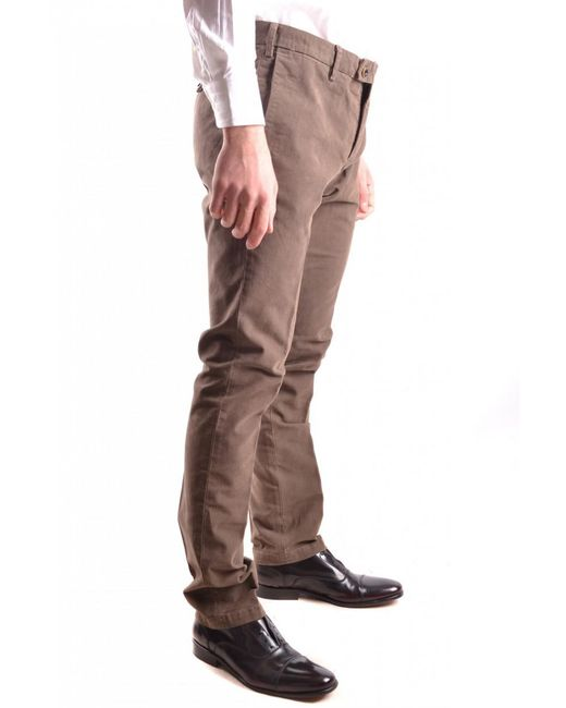 AT.P.CO - Red Trousers for Men - Lyst