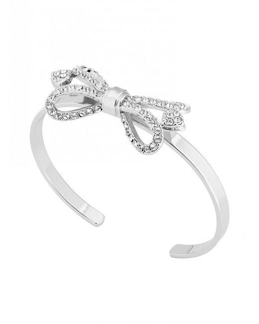 Ted Baker - Metallic Women's Hediie Ornate Bow Crystal Cuff Bracelet - Lyst