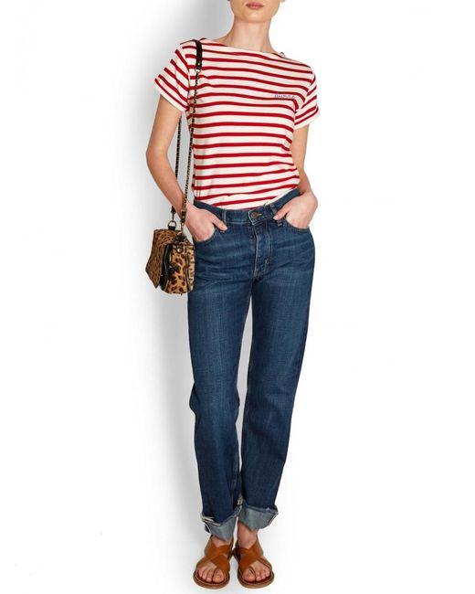 MiH Jeans - Blue M.i.h Jeans Bridge Straight Jean - Lyst