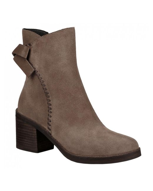 Ugg - Brown Ladies Fraise High Bow Back Boot - Lyst