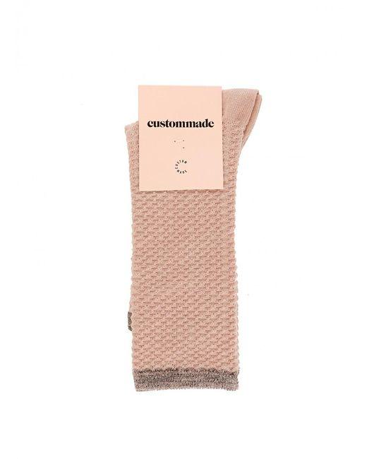 Custommade• - Pink Signe Sparkle Socks - Lyst
