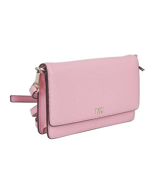 a3846f0a905f MICHAEL Michael Kors Pochette Pink Phone Cross Body in Pink - Lyst