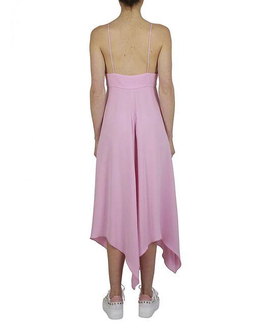 Boutique Moschino - Straps Dress Pink - Lyst