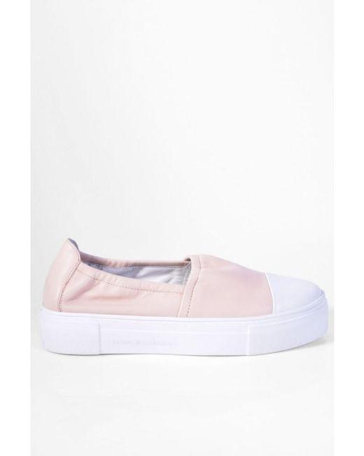 Kennel & Schmenger - Pink Kennel Und Schmenger Big Leather Slip On In Nude/white - Lyst