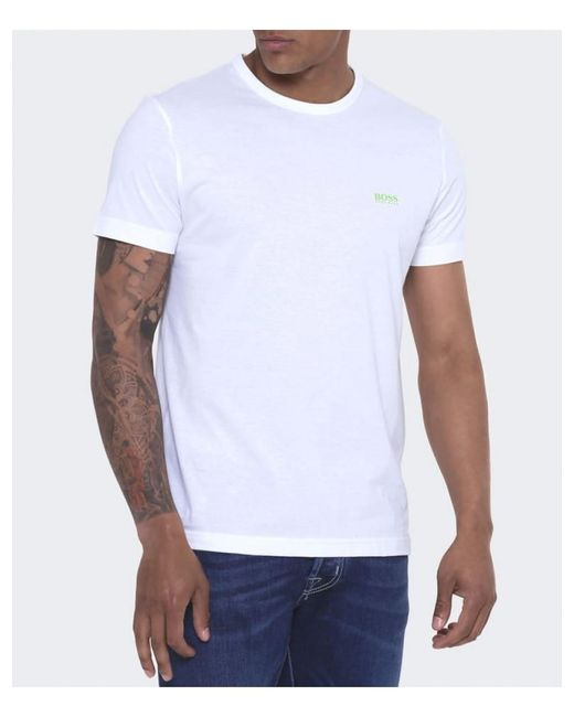 BOSS Green Blue Boss Regular Fit Tee T-shirt for men