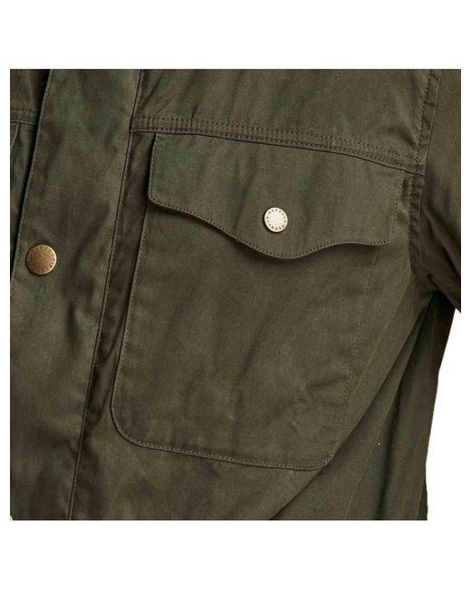 42da86b2c233 Barbour - Green Skipton Casual Jacket Olive for Men - Lyst ...