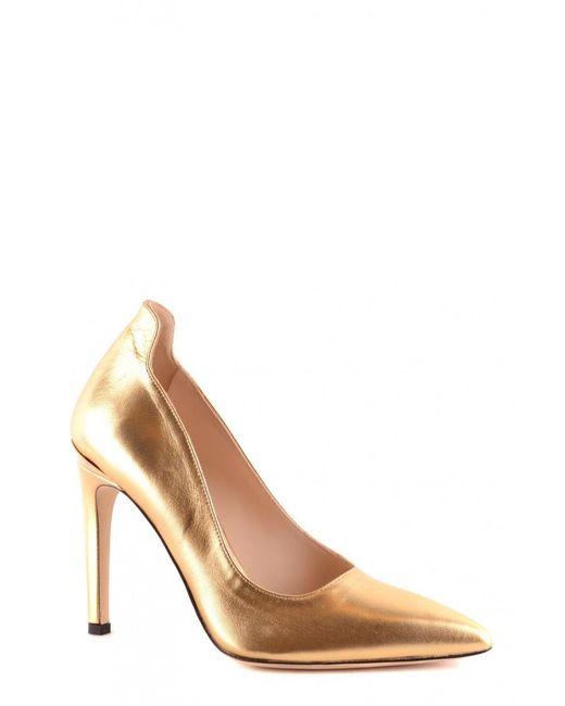Pinko - Metallic Shoes - Lyst
