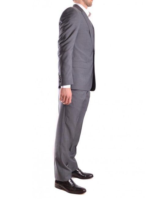 Armani - Gray Suit for Men - Lyst