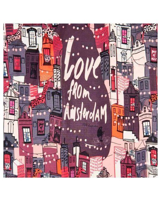POM Amsterdam - Pink Love Amsterdam Scarf - Lyst