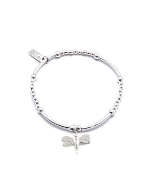 ChloBo - Metallic Cute Mini Bracelet With Dragonfly Charm - Lyst