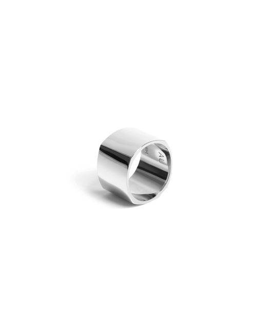 AUrate New York | White Geometric Square Ring | Lyst
