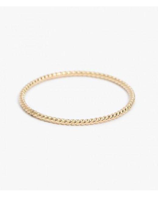 Catbird | Metallic Twisted 14-karat Gold Ring | Lyst