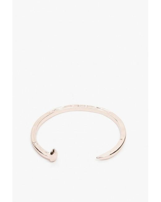 Giles & Brother | Pink Skinny Railroad Spike Cuff | Lyst