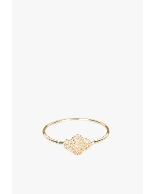 Grace Lee   Yellow Petite Deco Ring Vii   Lyst