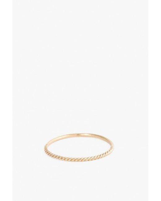 Minoux - Multicolor Twist Reversible Ring - Lyst