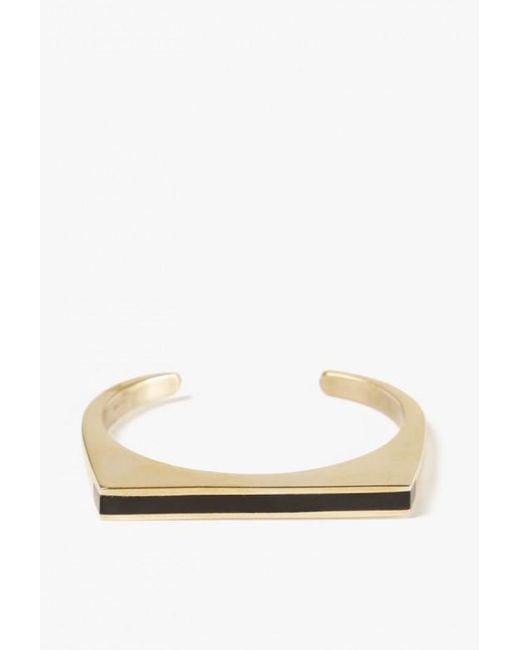 Soko | Metallic Horn Line Cuff | Lyst