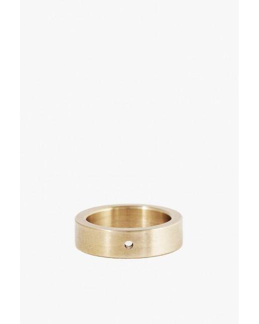 Marmol Radziner | Metallic Heavyweight Solid Standard Ring | Lyst
