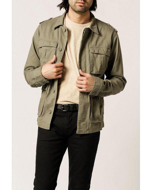 Native Youth | Green Sharrow Shacket for Men | Lyst