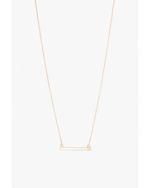 Loren Stewart | Multicolor Baby Bar Necklace | Lyst
