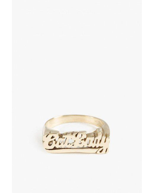 Snash Jewelry | Metallic Catlady Ring | Lyst