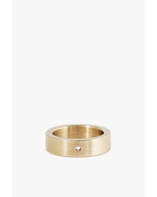 Marmol Radziner | Metallic Heavyweight Solid Standard Ring | Lyst