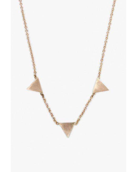 Hortense   Metallic Rewind Necklace   Lyst