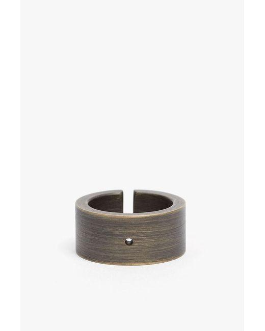 Marmol Radziner   Metallic Heavyweight Wide Cut Ring   Lyst
